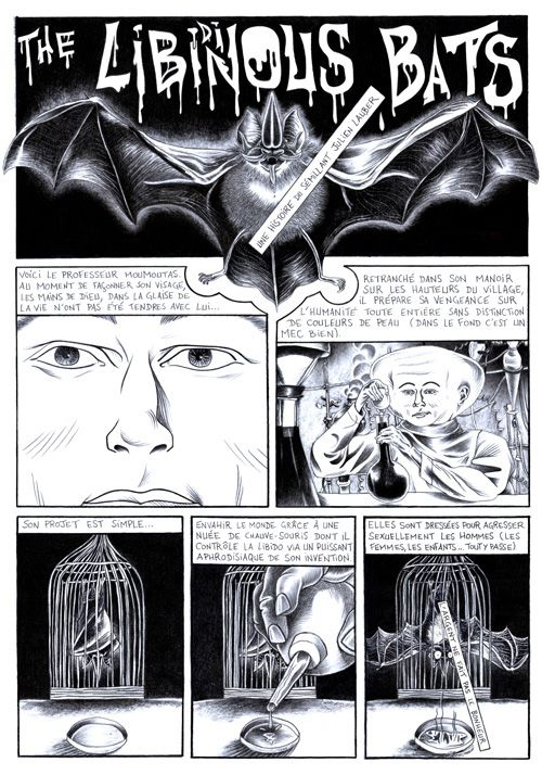 The Libidinous Bats - planche 1