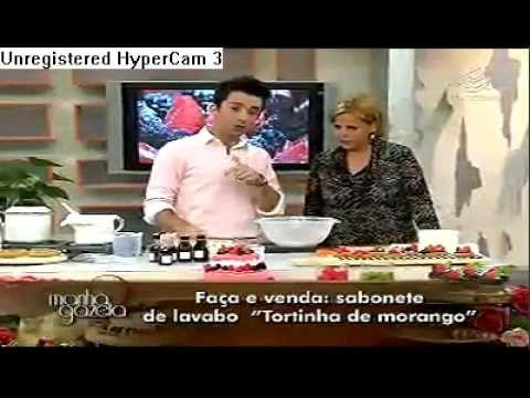 Manhã Gazeta Peter Paiva -  Mini torta com morangos