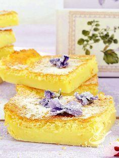 La Torta di crema cotta è un dolce buonissimo, alla portata di tutti e davvero irresistibile. Quando la voglia di dolcezza prende il sopravvento!