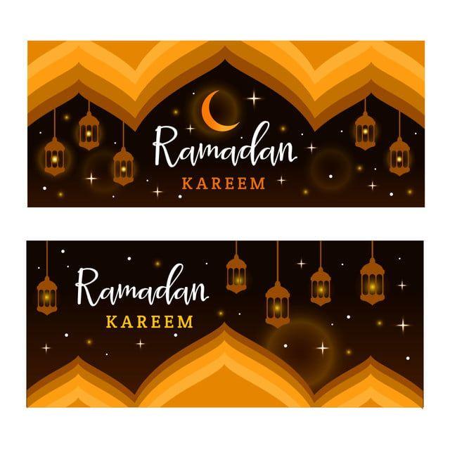 Ramadan Kareem Banner Template With Islamic Ornament Ramadan Kareem Ramadan Flyer And Poster Design