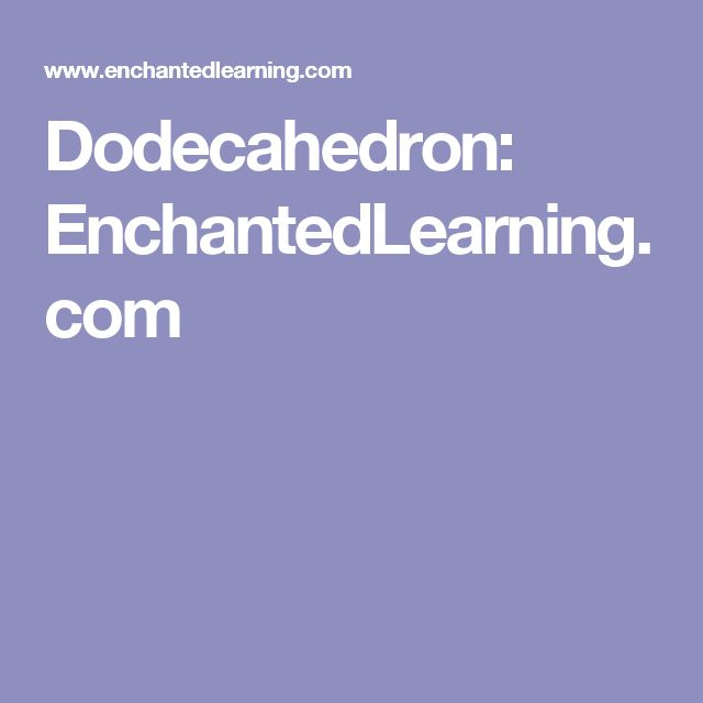 how to make a dodecahedron
