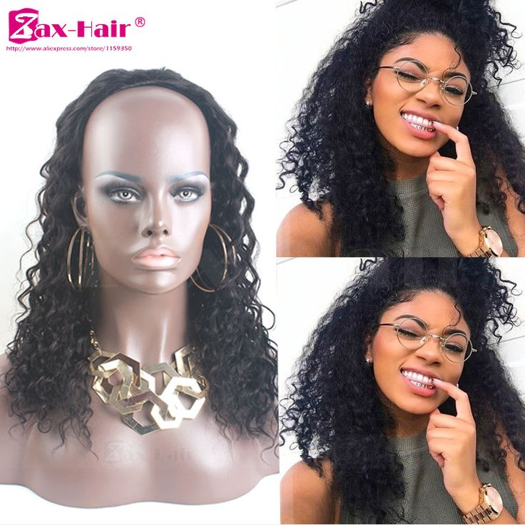 8 best 34 half wig extensions images on pinterest extensions customized human hair half wigs deep curly half wig for black women 7a human hair 3 pmusecretfo Image collections