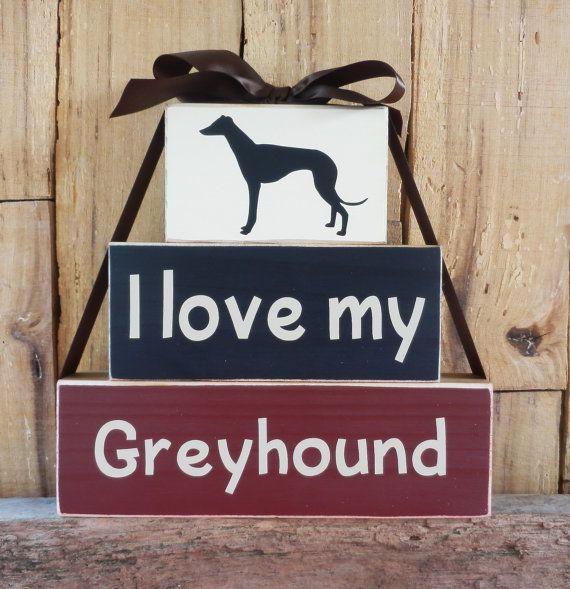 I love my Greyhound Labrador Dog Breed by CaneySpringsCrafts