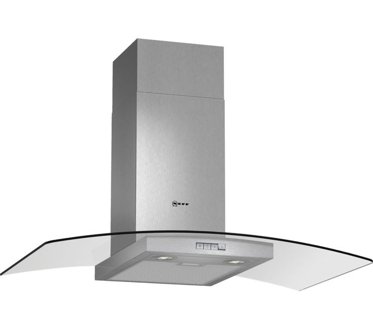 NEFF D89GR22N0B Chimney Cooker Hood - Stainless Steel, Stainless Steel: Suitable for ducted extraction and… #Electrical #HomeAppliances