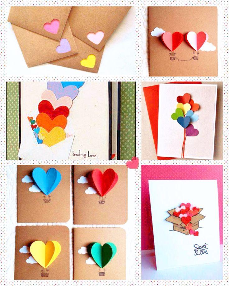 Manualidades fáciles de corazones