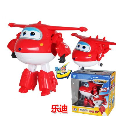 Big!!!12CM ABS Super Wings Deformation Jet Robot Action Figures Super Wing Transformation toys for children gift Brinquedos