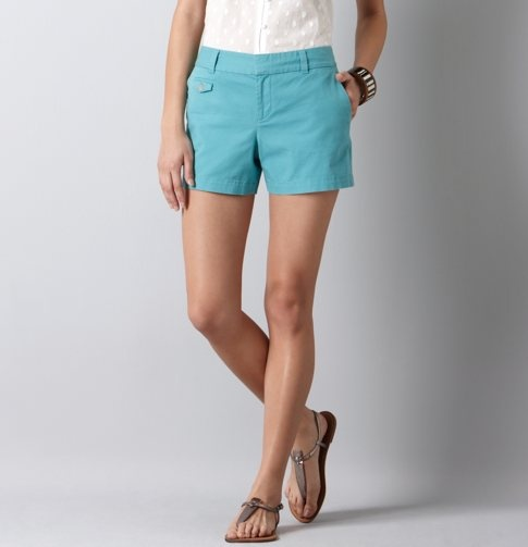 Need to try on these shorts. @ LOFT: Blue Shorts, Adorbs Shorts, Spring Styles, Ann Taylor Loft, Loft S Shorts, Bright Shorts, Loft Shorts, Spring Summer, 12 Shorts