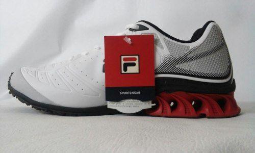 Tenis, Fila, Storm, White/red/black, 639004, - R$ 229,90 http://produto.mercadolivre.com.br/MLB-785237403-tenis-fila-storm-whiteredblack-639004-_JM
