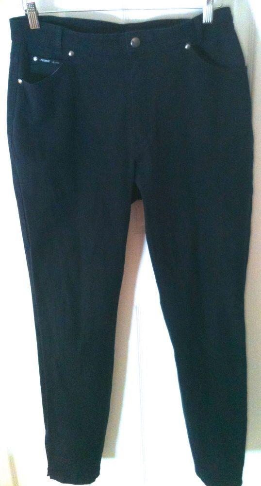 ROSNER Jeans Dark Blue Twiggy  SiZe 16 MSRP $198 from Europe #RosnerJeans #StraightLeg