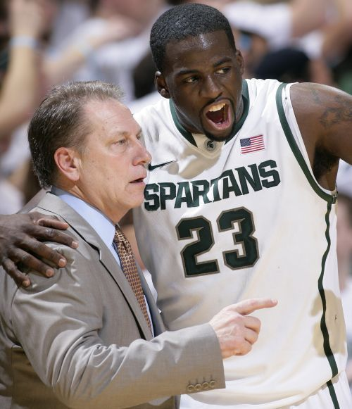 All things Michigan State University Men's Basketball. http://media.mlive.com/spartans_impact/photo/draymond-green-tom-izzo-17jpg-8aaed2109b71952c.jpg