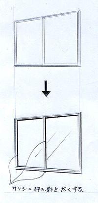 窓の描き方