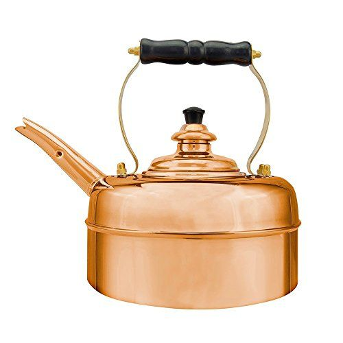 Simplex Teakettles Traditional Solid Whistling Kettle Copper * To view further, visit