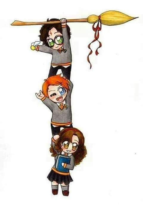 Harry, Rony, Hermione