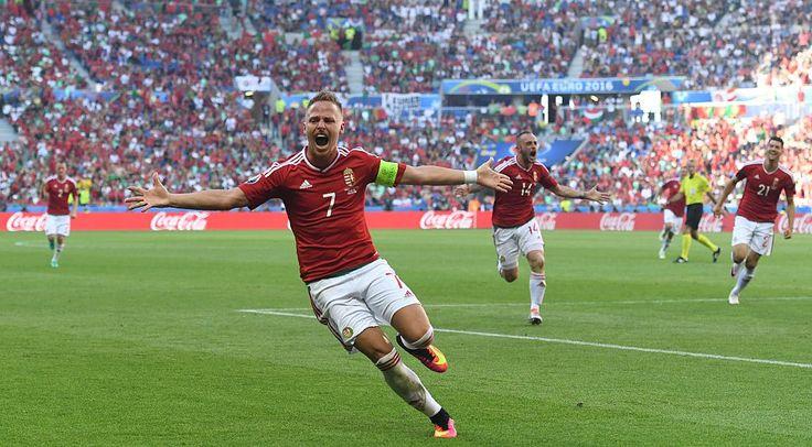 L'objectif de Dzsudzsák contre le Portugal était le quatrième coup franc directement marqué au EURO2016 - un record de la compétition.
