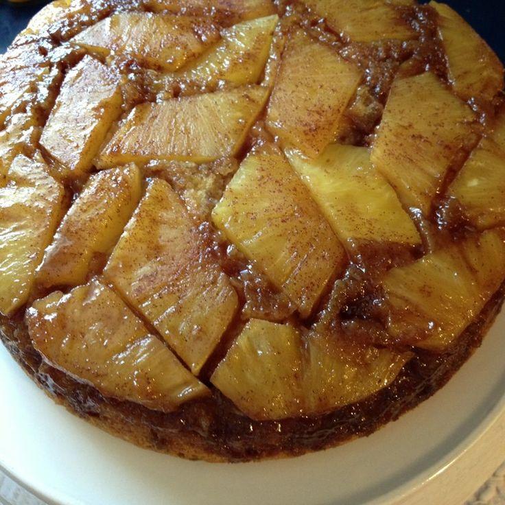 Pineapple Upside Down Cake from JenniferJuniper.net