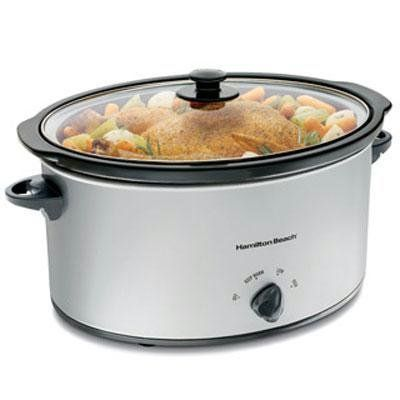 Hamilton Beach 7-Quart Slow Cooker on amazon ON SALE today for $22.99 & eligible for FREE Super Saver Shipping  find more items like this at http://www.ddsgiftshop.com find us on facebook here https://www.facebook.com/pages/Amazon-Deals-Home-and-Kitchen/378481788934860?fref=ts