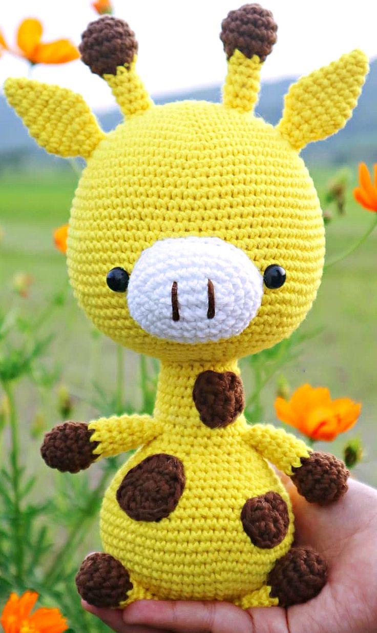 26 Professional Amigurumi Animal Pattern Ideas. Crochet Baby Giraffe Toy. Web Page 17 of 26