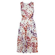 Buy Hobbs Lucille Dress, Ivory Multi Online at johnlewis.com