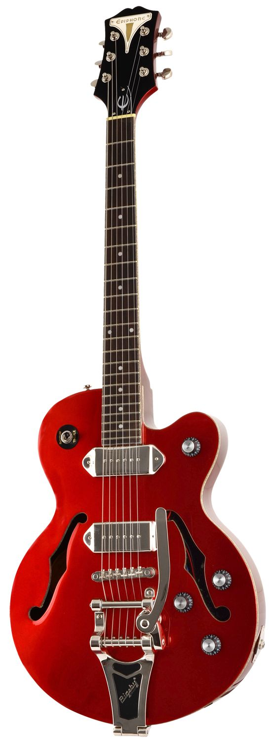 Epiphone Wildkat Red Royale P90 Bigsby Tremolo