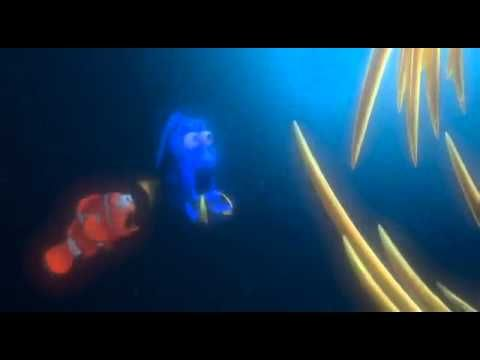 Pixar Films - Finding Nemo (2003) - HD Trailer -- The story is really fun, but it also teaches a pretty important lesson. Even with a bad fin, Nemo learns that he can do anything the other kids can do. So whatever the reason your child is different, and all kids are for some reason, this movie can leave them feeling that they can still do great things. And even if they don't get the lesson, they'll still love watching all the underwater action.