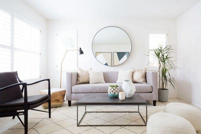 Best 20 Large Round Mirror Ideas On Pinterest