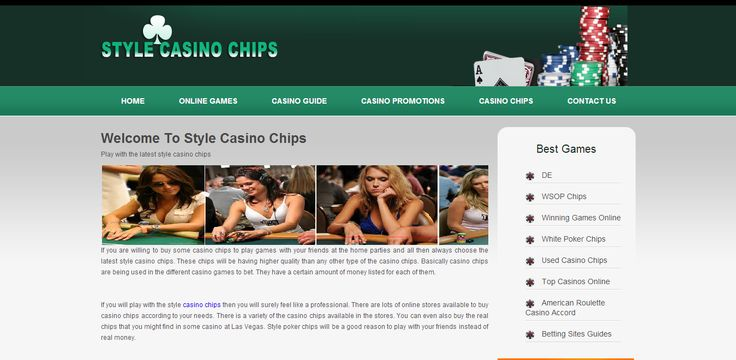 http://www.stylecasinochips.co.uk/ is a site for casino players to wish to play casino games with a style.  lots of casino games and reviews available to give the best to its players