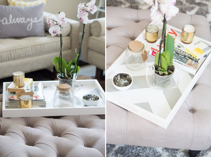Oh to Be a Muse | Bay Area Fashion Blogger Inspiring Style: Inspiring Style: DIY Coffee Table Tray