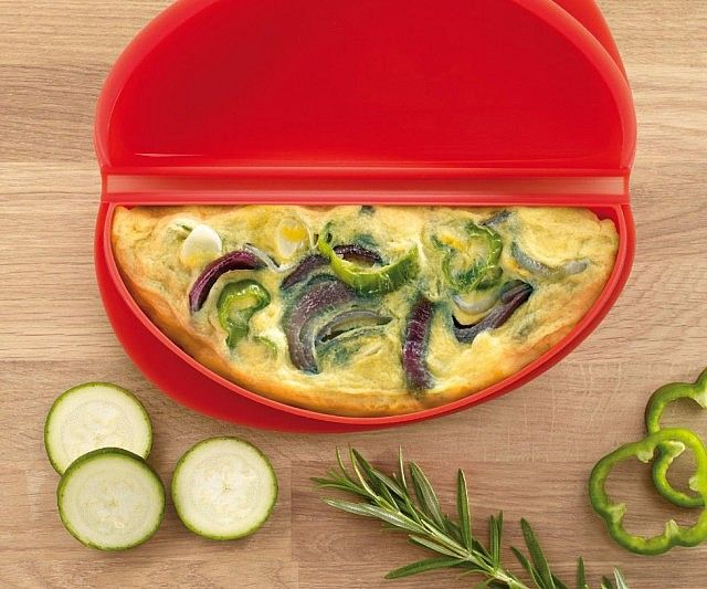 Make breakfast the tastiest meal of the day when you make the ultimate omelette using the microwave omelette maker. The specially…