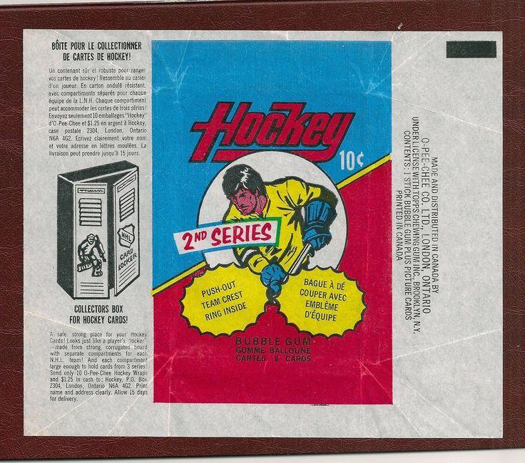 1973 74 OPC Series 2 Vintage Hockey Card Wax Wrapper   eBay
