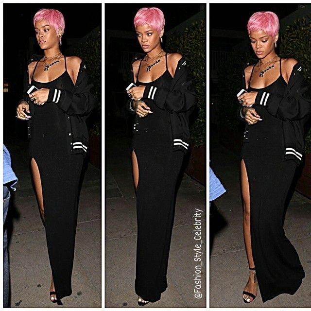 #rihanna #riri #chrisbrown #gorgeous #heart #pretty #cute #sweet #golden #diva #skirt #dress #accessories #music #croptop #sandals #heels #sandals #wefoundlove #monster #wig #pink #monstertour #eminem #legs #drake #cool #tattoo #chic... - Celebrity Fashion