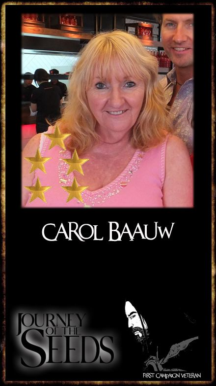Thanks so much to our original supporter, Carol Baauw. http://www.sentient.tv/members/chedwyn/