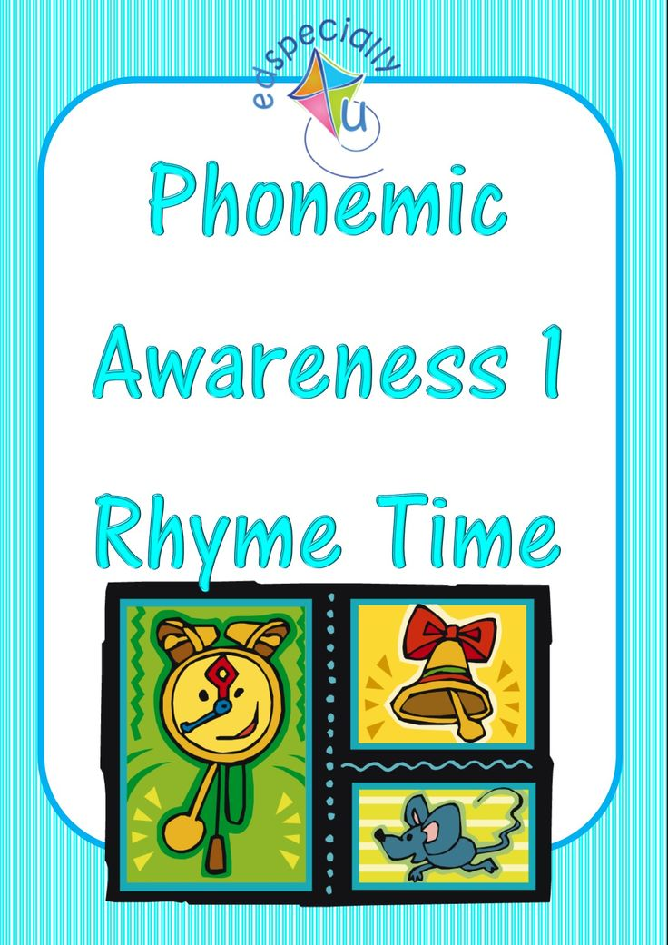 Visit our blog to see ways we recommend to encourage 'rhyme' http://www.edspecially4u.com.au/phonological-awareness-1-rhyme-time/