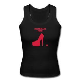 Schulterfreies Tank Top mit Racerback für Frauen, 100% Baumwolle, Marke: Spreadshirt .
