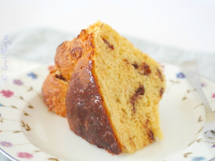 Brioche studded with chocolate - make the dough in 60 seconds - bizzy lizzy's good things