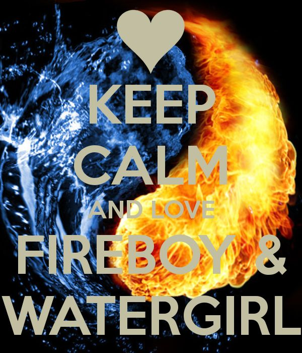 heh, as it turns out, Fireboy and Watergirl is a two-player game - I've completed all four games playing both characters simultaneously. Ups.