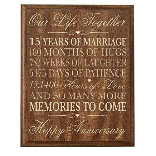 15th Weding Aniversary Gift 02 - 15th Weding Aniversary Gift