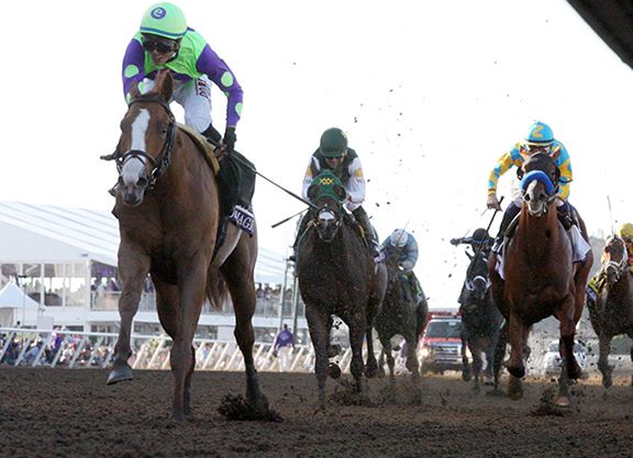Newly crowned champion juvenile Good Magic (Curlin) heads a list of 360 3-year-olds made eligible during the early nomination phase of the 2018 Triple Crown, comprised of the $2 million GI Kentucky Derby, $1.5 …