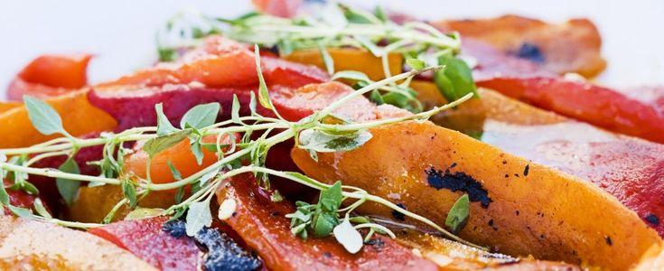 Ricetta Peperoni alla griglia   Agrodolce