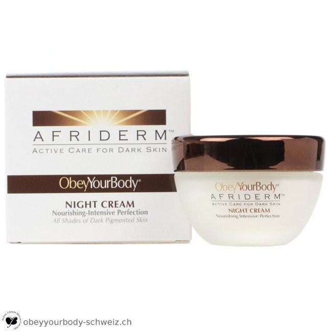 Anti Aging while sleeping | AFRIDERM™ Night Cream, CHF 94.90