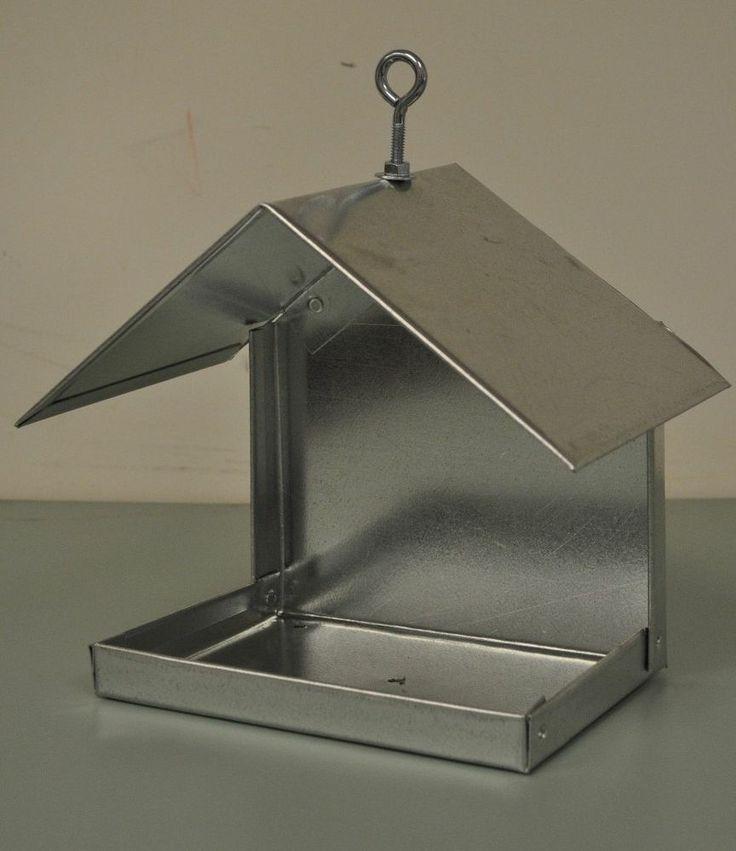 Best 25 metal bird feeders ideas on pinterest metal for Bird feed tin
