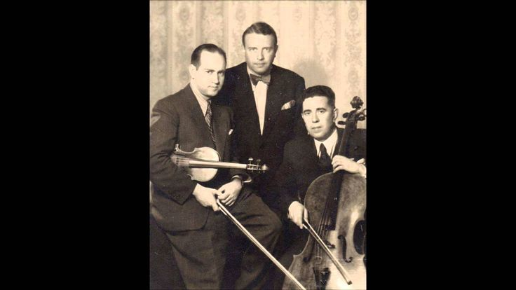 Rimsky-Korsakov - Piano trio - Oistrakh / Knushevitsky / Oborin