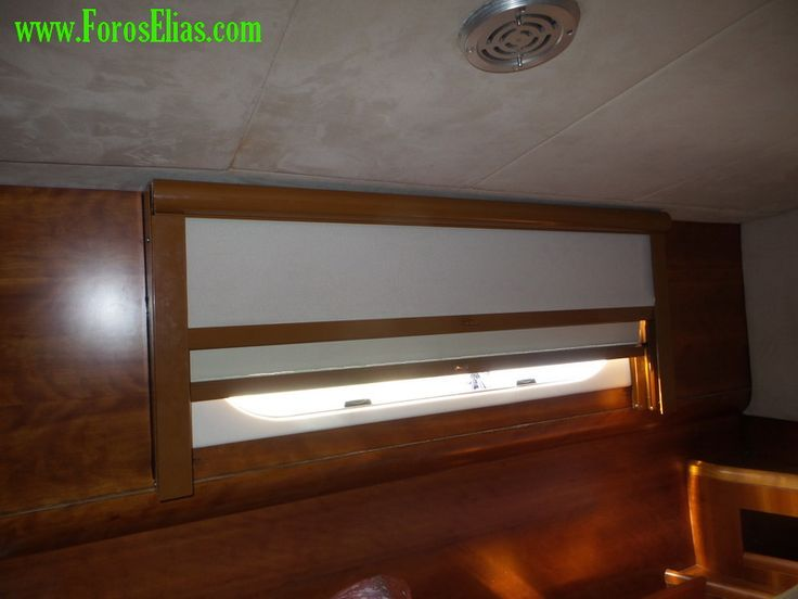 Special roller blinds constructions for yachts