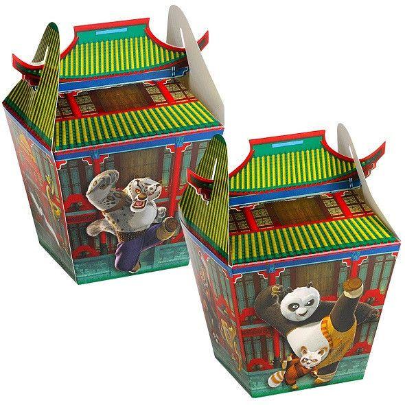 Kung Fu Panda  Party Favor Treat Boxes Birthday Party Supply Decoration Kung Fu Kodak Panda Party Panda Birthday Panda Birthday Party