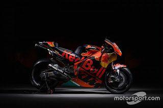 Blog Esportivo do Suíço: KTM revela pintura da RC16 para temporada da MotoGP