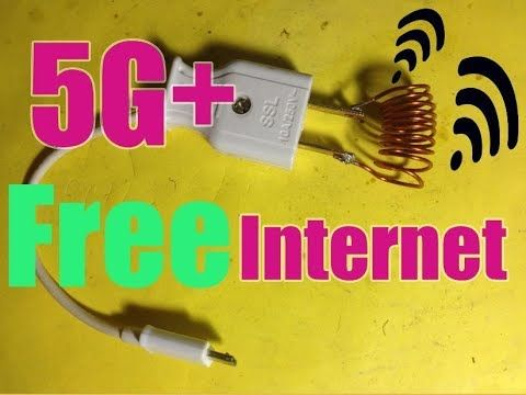 Get Unlimited Internet 5G+ & Free WiFi New 2019 Anywhere 100