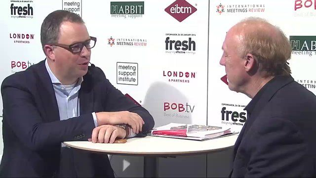 Corbin Ball - How to capture people's attention - interviewed by Ruud Janssen
