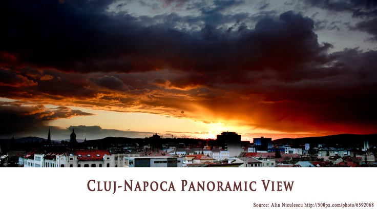 Cluj-Napoca Panoramic View  https://www.facebook.com/FromTransylvaniaWithLove