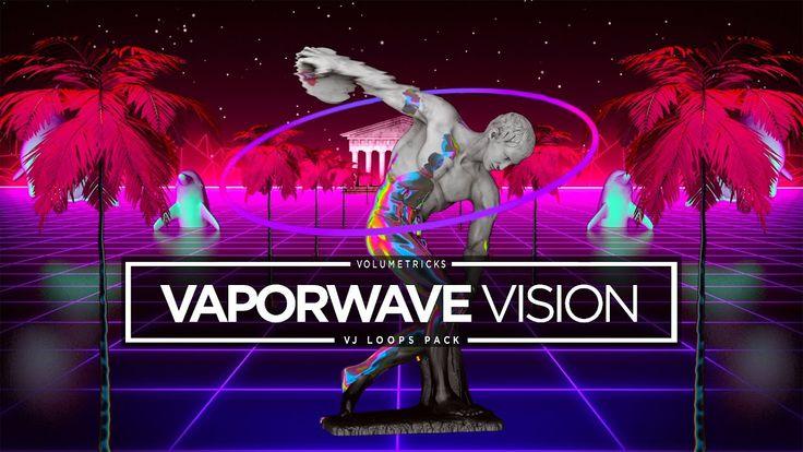 Vapor Wave Vision VJ Loops Pack in 2020 Visions, Waves