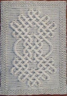 Ravelry: Celtic Motif (knot #64) pattern by Devorgilla's Knitting (sometimes...)