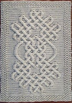 Ravelry: Celtic Motif (knot #64) pattern by Devorgilla's Knitting (sometimes...)